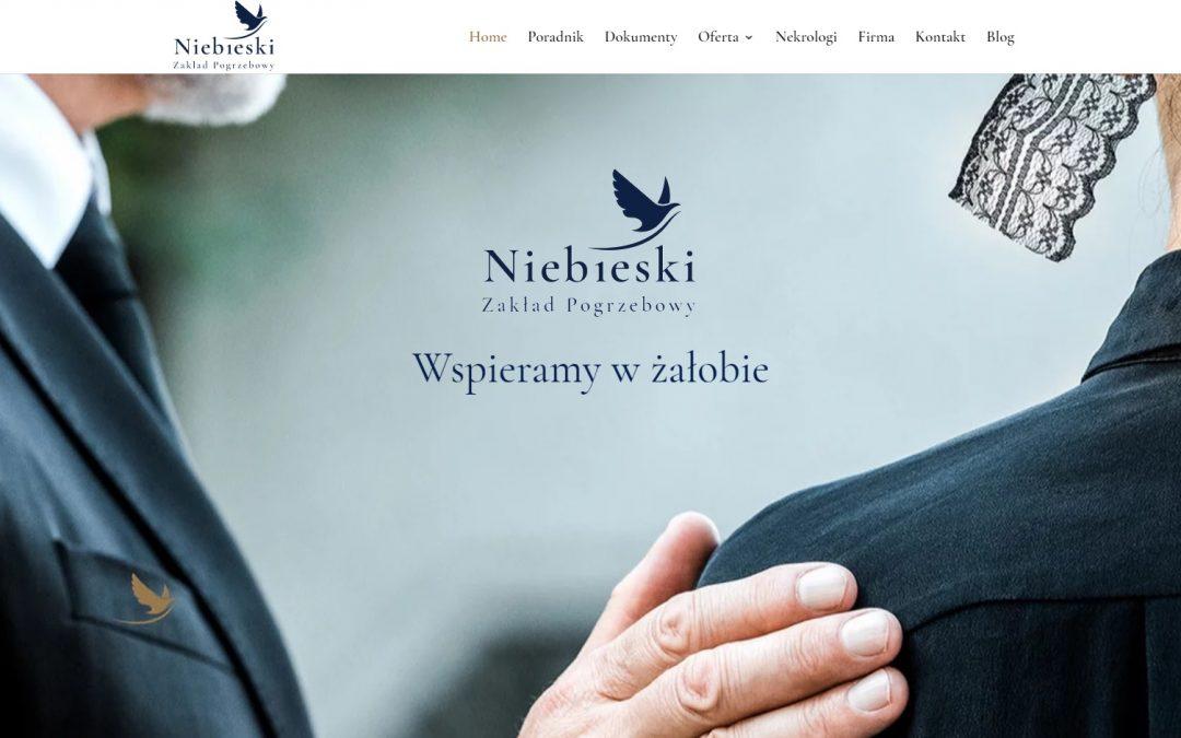 Nowa strona Zakładu Pogrzebowego Niebieski z Wałbrzycha